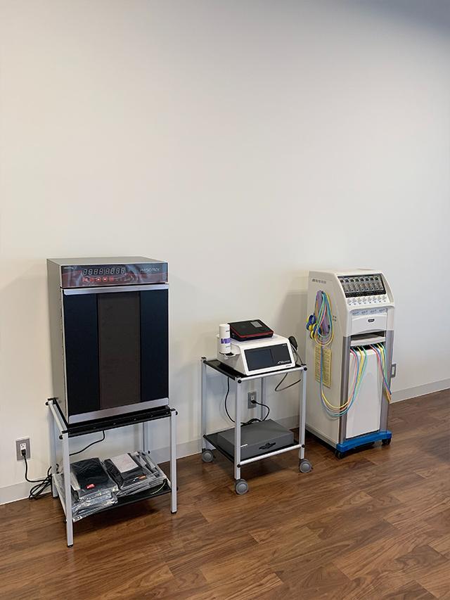 温熱機器・圧力波治療・低周波治療器